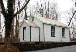 The Restored Brookeville Schoolhouse