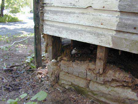 Rotted Sill Plate