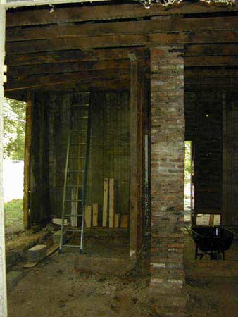 Interior Before Restoration