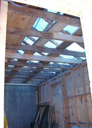 Interior View Framing Restoration & Repair